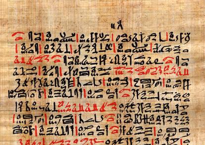 Orígenes de la Cirugía Plástica: Papiro de Ebers.
